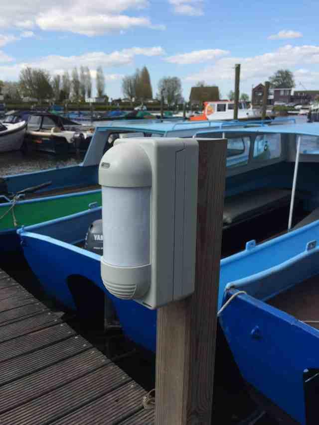 Jachthaven beveiliging