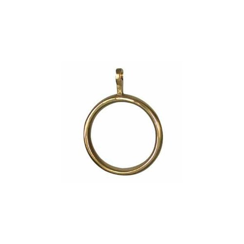 restorers 2 inch solid brass curtain rings