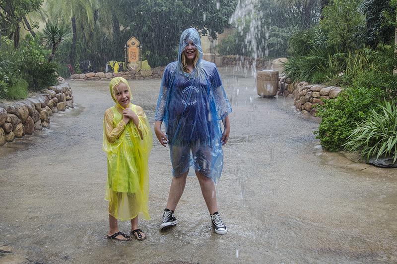 Als het regent, dan regent het goed....