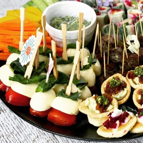 Canapes for a Company of Women's event