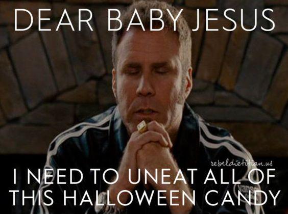 halloween fitness meme