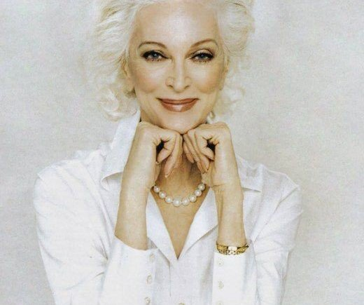 style icons with gray hair Archives - Green Acres Meets Paris