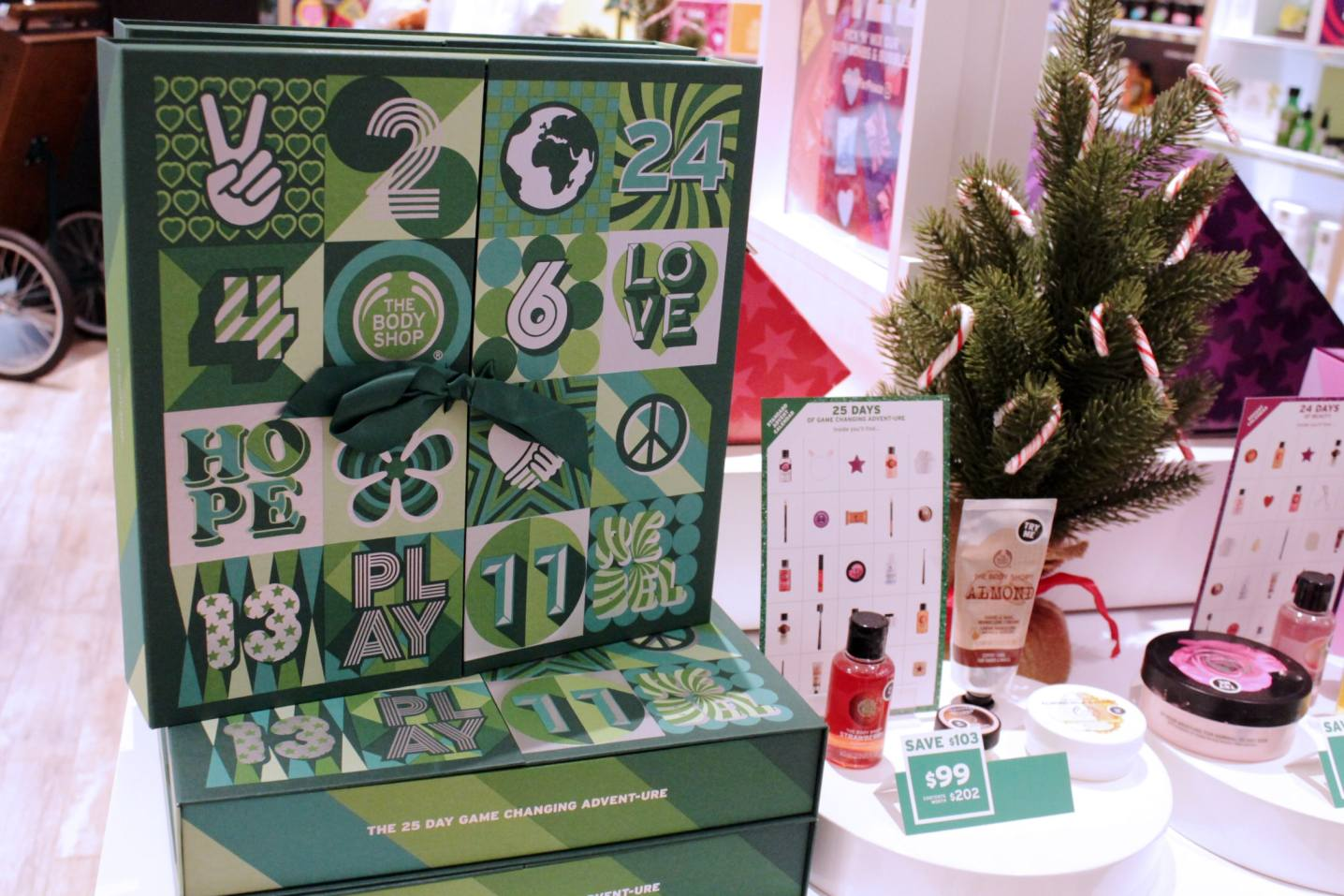 Body Shop 25 Days Game Changing Calendar