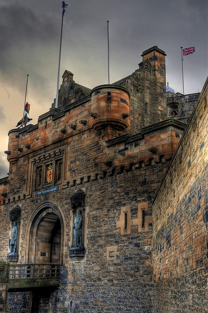 Ancient, Edinburgh Castle, Scotland