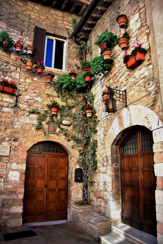 Ancient Entryway, Assisi, Italy