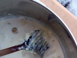 Latte aglio bagna cauda