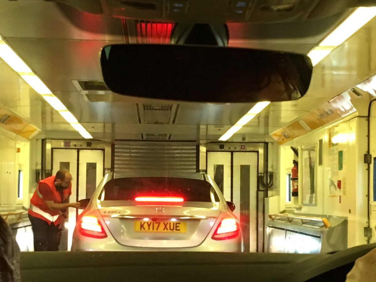 Travelling on the Eurotunnel