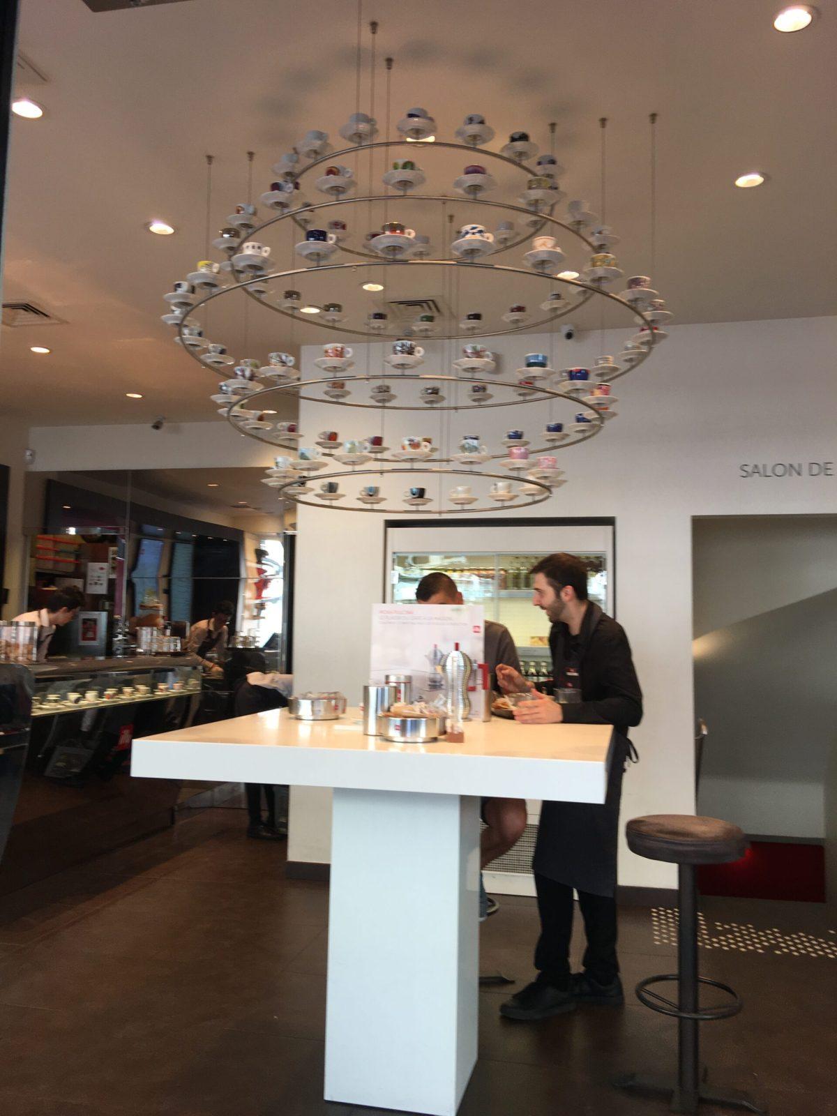 Coffee shop in Paris, France