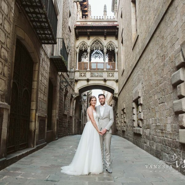 Destination Wedding in Barcelona