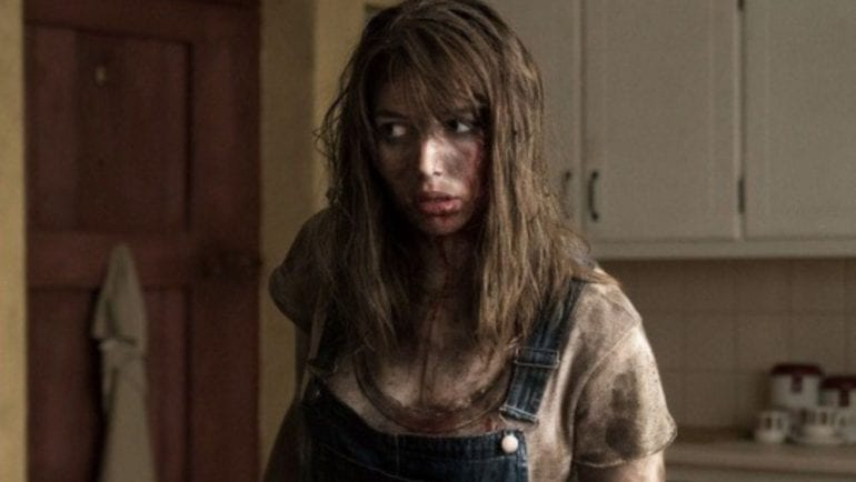 New horror movies. Seána Kerslake in The Hole in the Ground