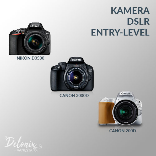 Kamera DSLR Entry-Level - Tips Memilih Kamera DSLR