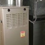Residential Furnace with Filter Box