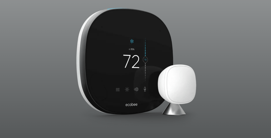 Ecobee Wifi Smart Thermostat With Voice Control