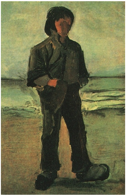 Fisherman On The Beach By Vincent Van Gogh 139 Painting
