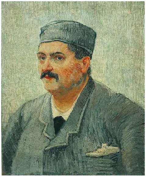 Portrait Of A Man With A Skull Cap Vincent Van Gogh 2135