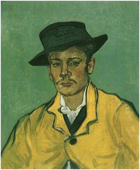 Portrait Of Armand Roulin Vincent Van Gogh 2121 Painting