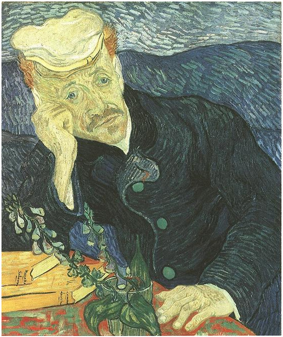 Vincent van Gogh's Portrait of Doctor Gachet