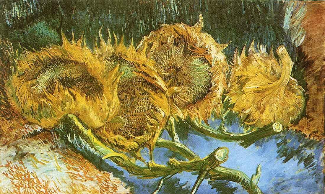 sunflowers paintings van gogh gallery