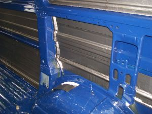Sound deadening fitted to all the side metal work