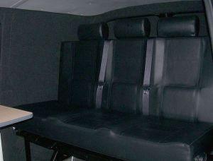 Campervan seatbed