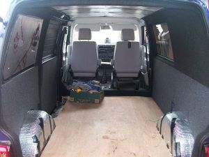 VW T4 Carpet lining & sub floor