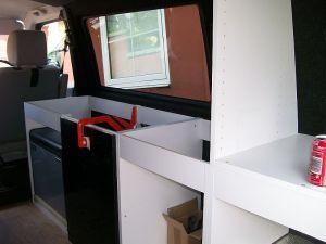 VW T4 Camper units installation
