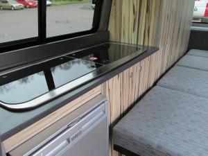 Smev 9222 Hob & Sink with the Waeco CR50 Fridge with Ice Box