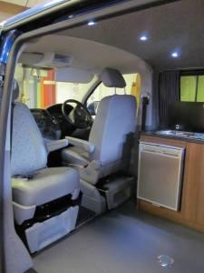 VW Swivels Seat Base