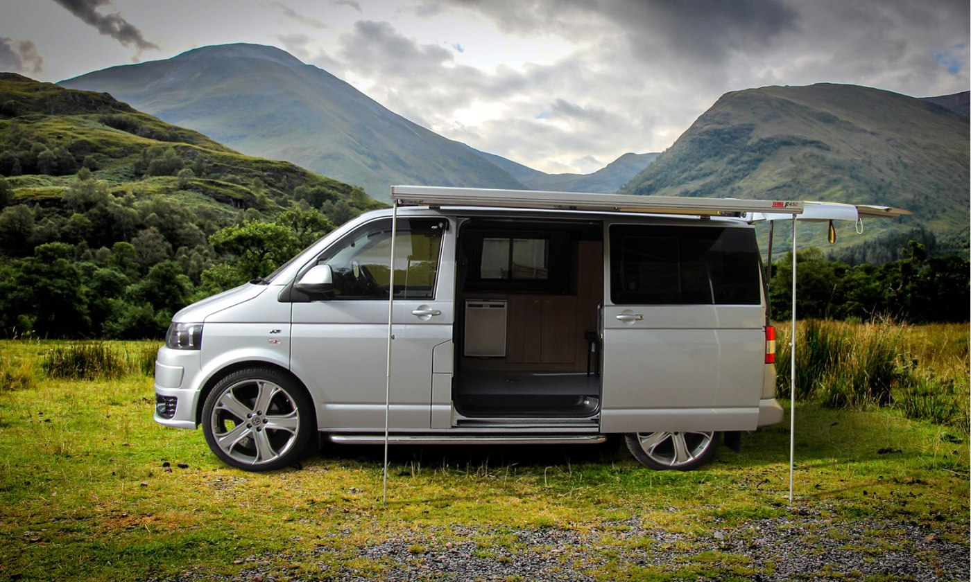 Windows VW T5 Our Trendline Campervan Conversion