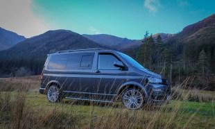 VW T5 Campervan privacy windows