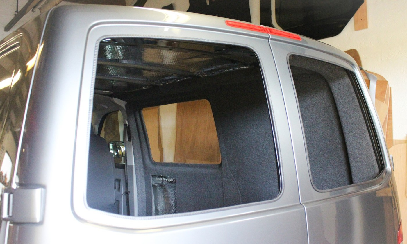 VW T5 Privacy windows