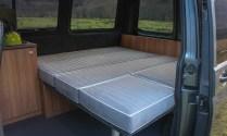 VW T5 full width size bed