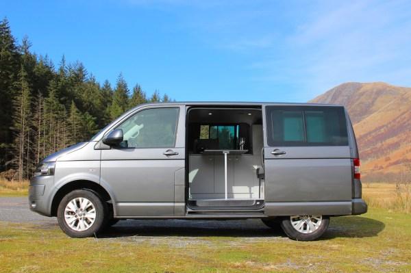 VW T5 Kombi into a VW T5 Campervan