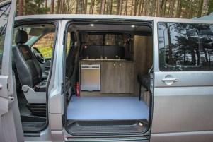 VW T5 Sportline Campervan Driftwood furniture