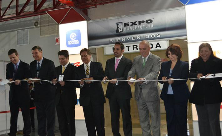 Este martes arrancó ExpoManufactura 2014 en Monterrey, Nuevo León. (Foto: VI)