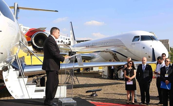 Embraer espera que Brasil superare a México este año y se convierta en el segundo mayor mercado global para la aviación ejecutiva, detrás de los Estados Unidos. (Foto: Embraer)