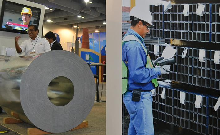 Ternium, desde 2006, impulsa un programa para el desarrollo de las pymes de su cadena de valor, lo que las hace más competitivas. (Foto: VI).