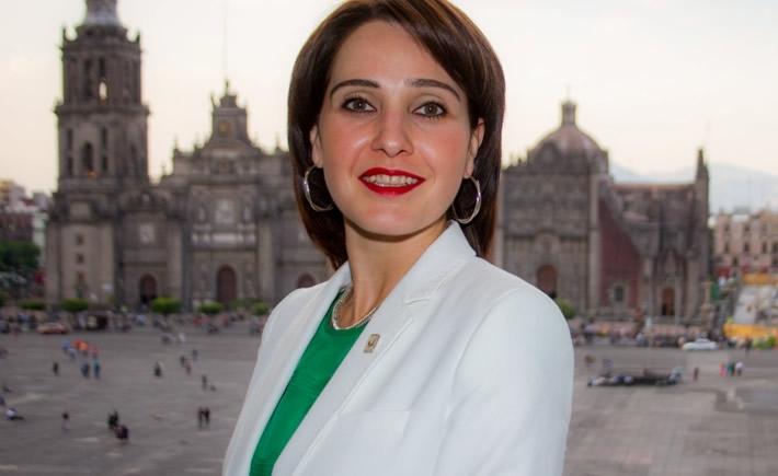 Tania Müller García, secretaria de Medio Ambiente del Distrito Federal. (Foto: Cortesía)
