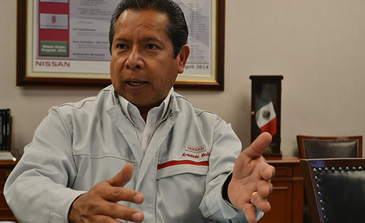 Armando Ávila Moreno, vicepresidente de Manufactura de Nissan Mexicana. (Foto: VI)