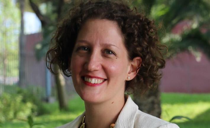 Directora Ejecutiva del Aeroclúster de Monterrey, Claire Barnouin. (Foto: Cortesía)