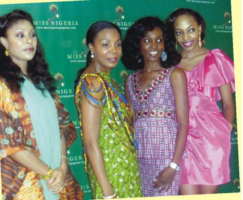 Binta Sukai, Nike Oshinowo-Soleye,  Vien tetsola and  Eni Lawani