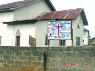 St. Stephen Anglican Church, Ifewara, which used to be the family church