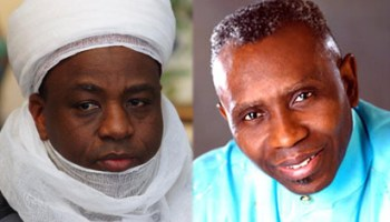 Sultan of Sokoto and Pastor Ayo Oritsejafor, CAN President