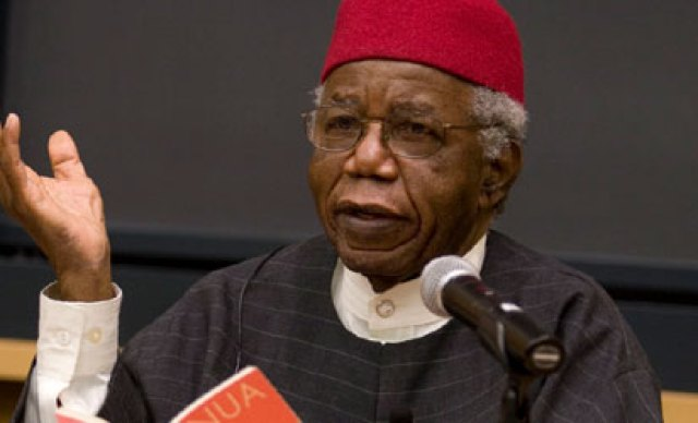 Achebe's there was a country… actually means what it says
