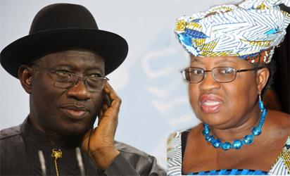 Jonathan and Okonjo-Iweala