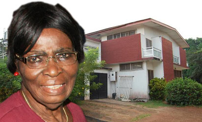 File Photo: The Palace of the Obi of Ogwashi-Uku where  Prof. Okonjo-Iweala's mother, Prof. Kamene-Titi-Okonjo was kidnapped