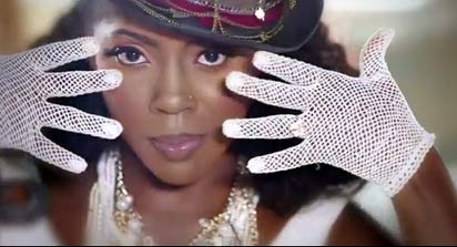 Tiwa in a still shot from the video