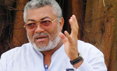 Former President Rawlings has died