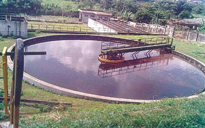 Proposed sewage plant