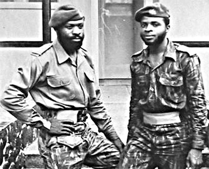 *Two jolly friends — Alabi-Isama and Akinrinade: They might have died together had the ambush succeeded